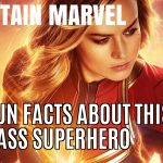 Captain Marvel 10 Amazing Fact