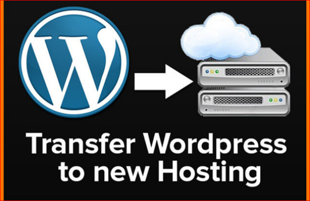 transfer your wordpress site to a new hosting service