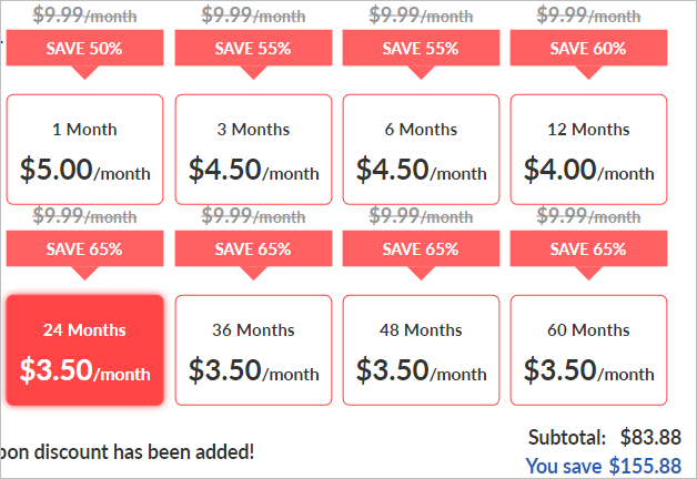 Buy  a hosting package and I will manage your site for free