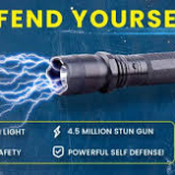 shockwave torch - your safest bet for saving for your life