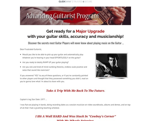 Advanced Guitar with Express Guitar Volume 2 - The Advancing
